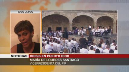Santiago: EEUU ha usurpado poderes gubernamentales de Puerto Rico