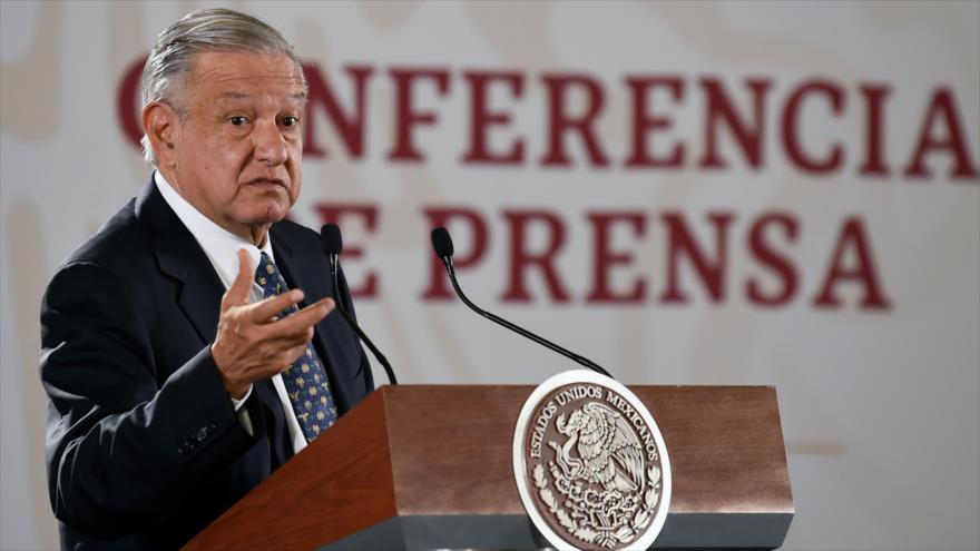 López Obrador pide al FMI disculparse por la violencia en México