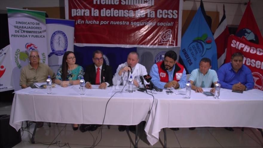 El sector del salud irá a huelga si no hay diálogos en Costa Rica