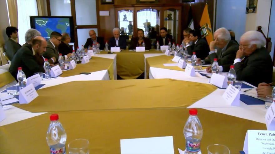 Debaten en Ecuador la geopolítica del Golfo Pérsico