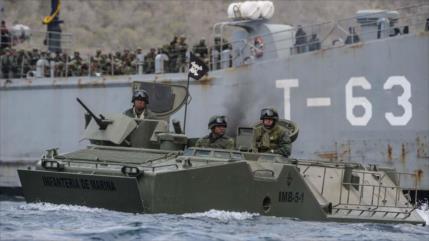 Venezuela muestra músculo en masivos ejercicios militares