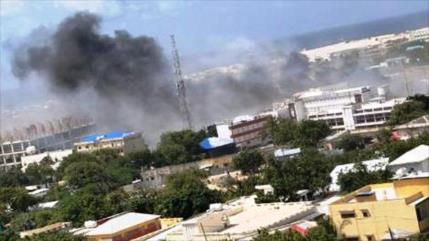Seis muertos en atentado contra alcaldía de la capital de Somalia