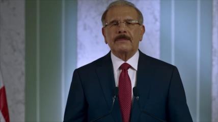 Danilo Medina renuncia a la reelección en República Dominicana