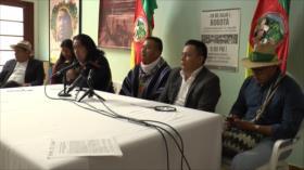 Gobierno colombiano le incumple a los indígenas