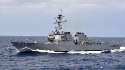 Una nave de EEUU cruza estrecho de Taiwán en plena tensión con China