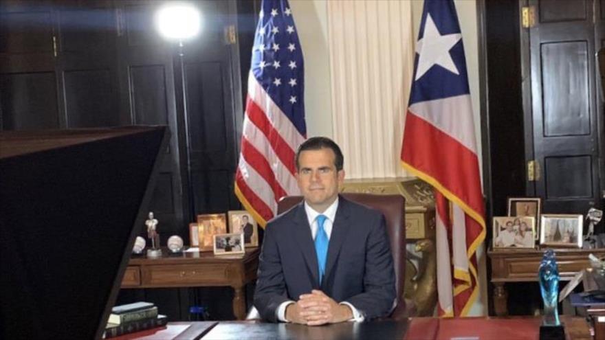 Renuncia el gobernador de Puerto Rico, Ricardo Rosselló