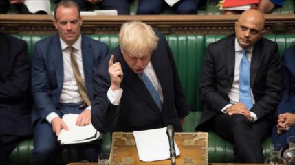 UE tacha de 'inaceptable' postura de Johnson sobre el Brexit
