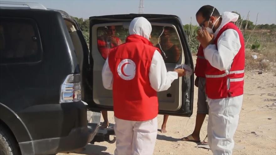 62 cadáveres hallados tras naufragio frente a costas libias