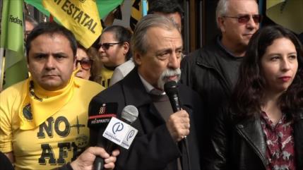 Chile: Maratón frente a Sebastián Piñera por pensiones dignas