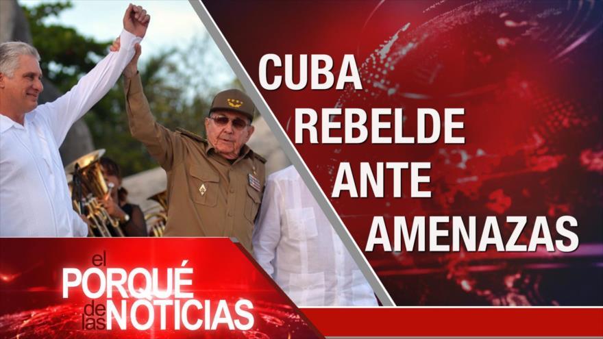 El Porqué de las Noticias: EEUU y cubanos. PSOE y Podemos. UE y migrantes