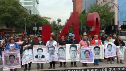 58 meses sin noticias de los 43 desaparecidos de Ayotzinapa