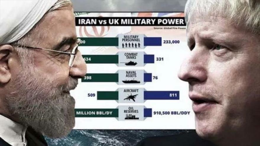 Un diario británico advierte de que la fuerza militar iraní puede superar a la del Reino Unido. (Foto: Daily Express)