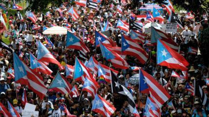 """""""Renuncia de Rosselló crea en Puerto Rico actos independentistas"""""""