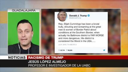 'Trump ataca a cualquiera que cuestione su idea America First'
