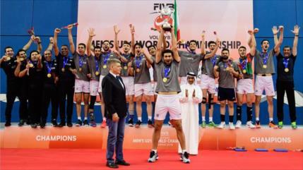Irán se corona campeón del Voleibol Masculino Sub-21 del mundo