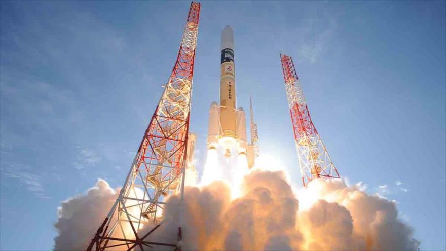 Irán lanza con éxito el portador del satélite Simorq al espacio, 27 de julio de 2017.
