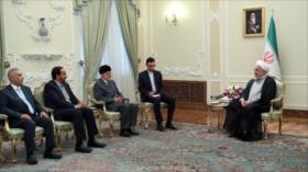 Rohani: Salida de EEUU del pacto nuclear, la causa de tensiones