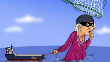 """Vídeo: Exhiben en Irán caricaturas de """"La reina de los piratas"""""""