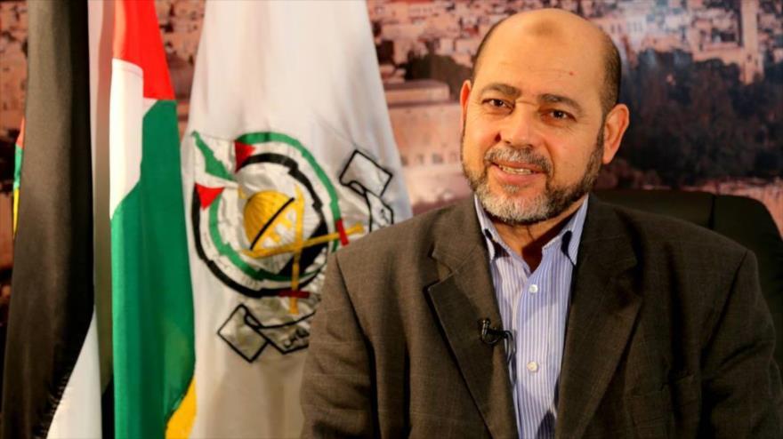 El jefe adjunto de la dirección política del Movimiento de Resistencia Islámica de Palestina (HAMAS), Musa Abu Marzuq.