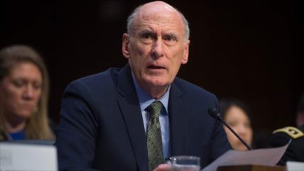 Jefe de espionaje de EEUU dejará su cargo por discordias con Trump