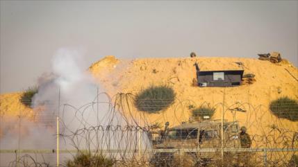 Vídeo: Israel levanta otra barrera cerca de Franja de Gaza