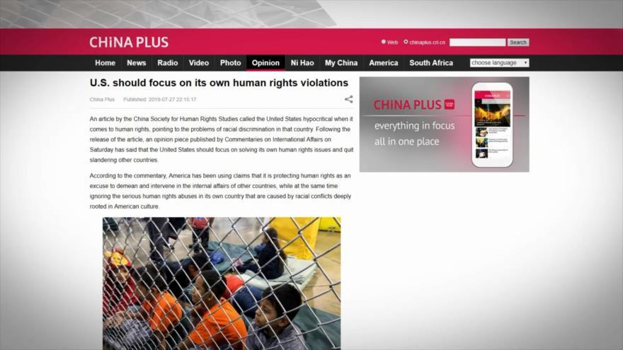 EEUU hace la vista gorda ante violación de DDHH en su territorio | HISPANTV