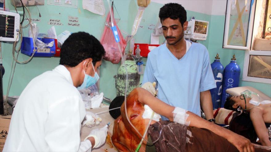 Ataque aéreo saudí contra un mercado yemení mata a 14 civiles | HISPANTV