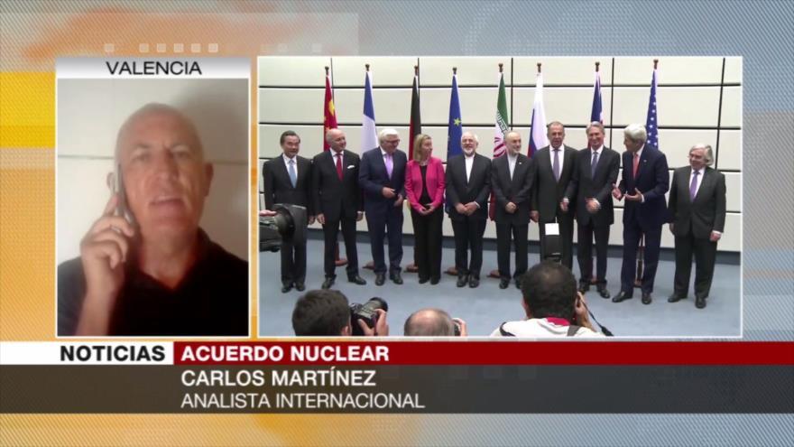 Martínez: Si Europa no cumple con el pacto, Irán debe abandonarlo