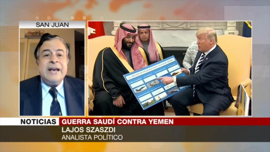 Szaszdi: Medios occidentales no cubren crímenes contra yemeníes