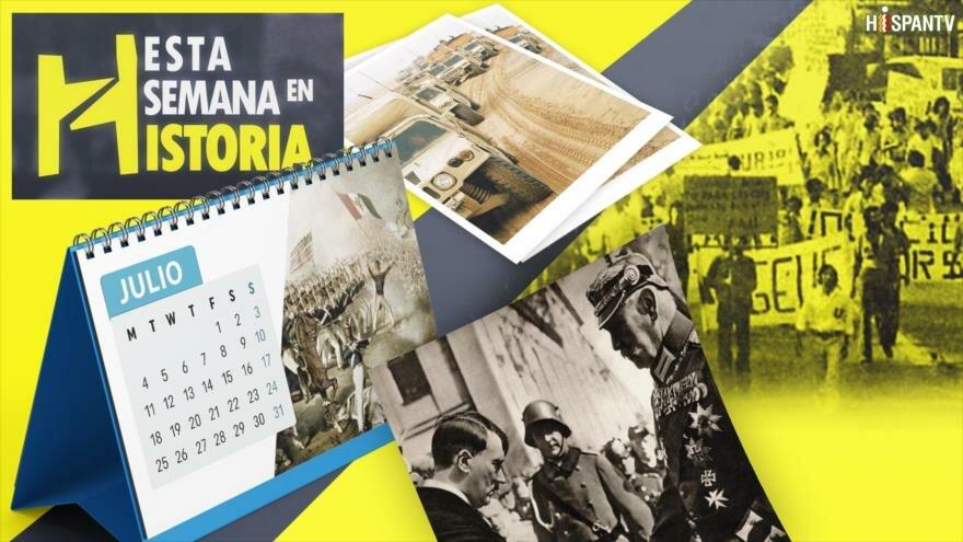 Esta Semana en la Historia: Julio 30-Agosto 5