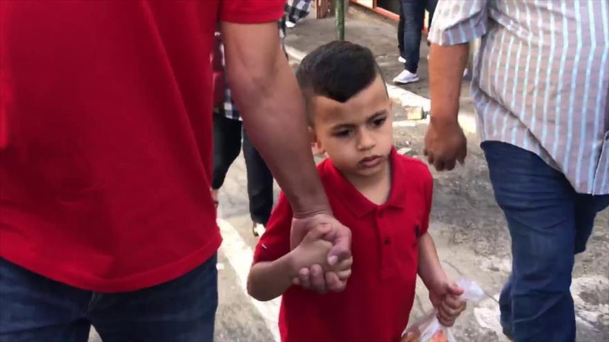 Israel convoca a un niño palestino de 4 años para interrogarlo