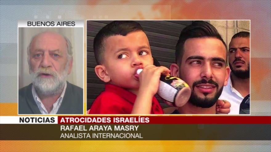 'Israel reprime a niños palestinos en campaña de limpieza étnica' | HISPANTV