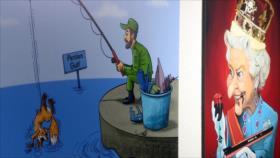 Se abre en Irán exhibición de caricaturas 'La reina de los piratas'