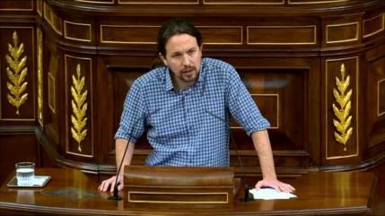 """Pablo Iglesias: PSOE tiene un """"problema de identidad"""" en España"""