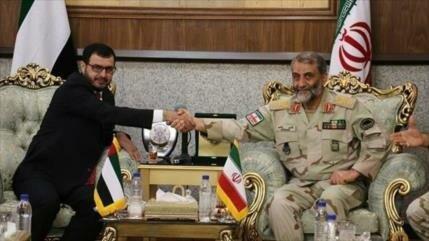 Irán y EAU acuerdan cooperar en seguridad naval en Golfo Pérsico