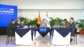 Eurodiputados constatan persecución política en Ecuador