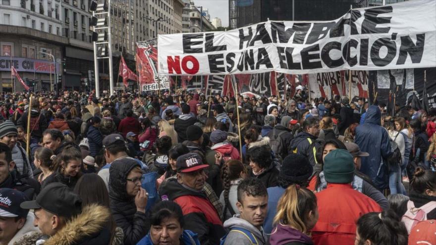 Nueva protesta en Argentina contra políticas de ajuste de Macri | HISPANTV