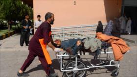 Explosión de una mina terrestre deja 34 muertos en Afganistán