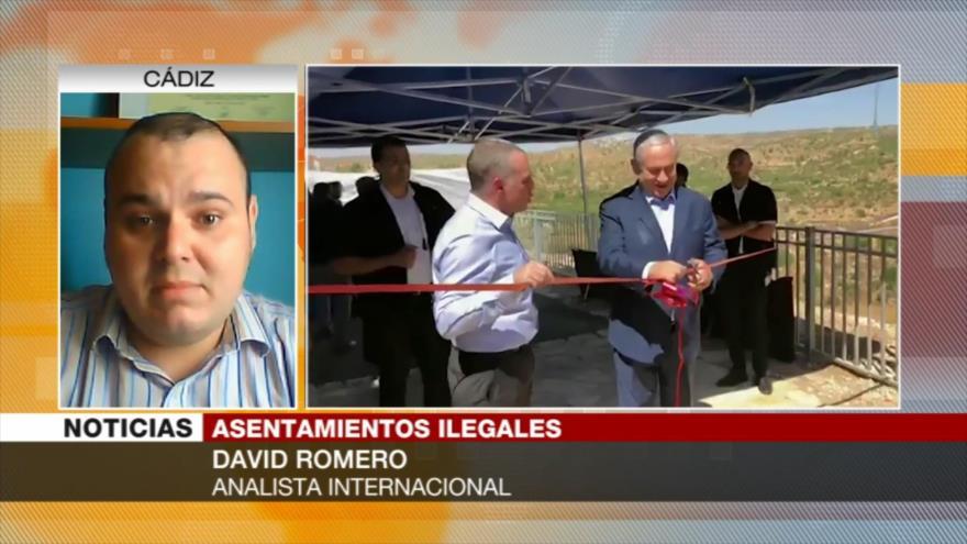 Romero: Política expansionista israelí alimenta la conflictividad   HISPANTV