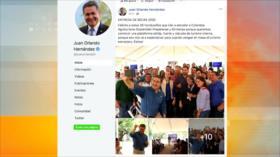 Facebook elimina cuentas que favorecían al presidente de Honduras