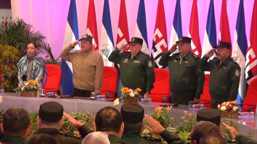 Nicaragua conmemora 40.º aniversario de la Fuerza Aérea