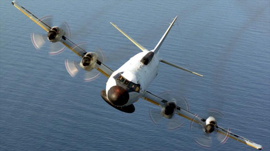 Un avión EP-3E ARIES II de EE.UU.