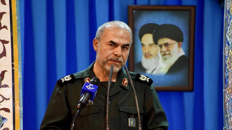 El vicepresidente para Asuntos Políticos del Cuerpo de Guardianes de la Revolución Islámica (CGRI) de Irán, el general Yadolá Yavani.