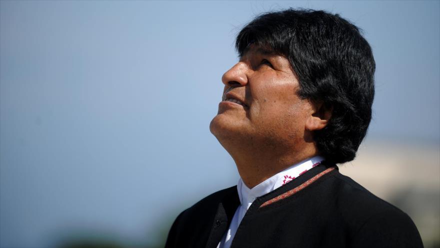 El presidente de Bolivia, Evo Morales, en un acto celebrado en La Habana (capital cubana), el 23 abril de 2018. (Foto: AFP)