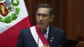 Martín Vizcarra plantea adelanto de elecciones generales al 2020