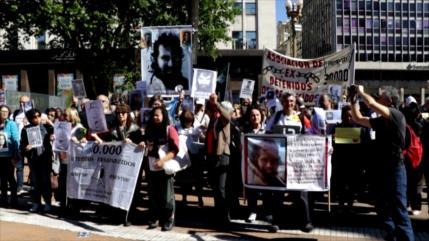 Argentinos denuncian saldo represivo del Gobierno de Macri