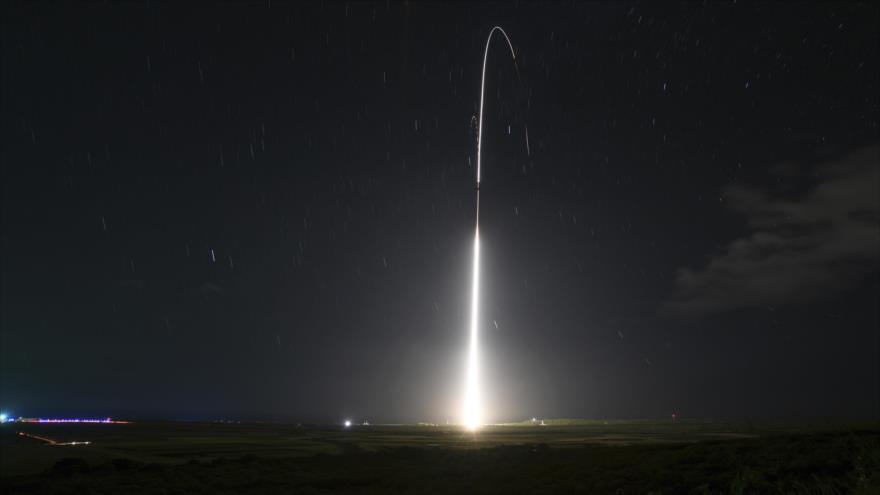 La pruebas de misiles de defensa terrestre Aegis de EE.UU. desde la isla de Kauai, 10 de diciembre de 2018. (Foto: AFP)