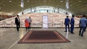 Color y diseño en la Feria de Alfombras de Tabriz