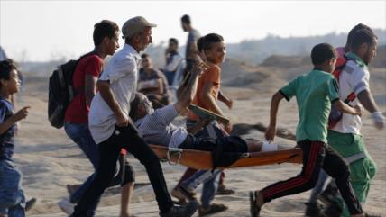 Represión israelí en Gaza deja otros 51 palestinos heridos