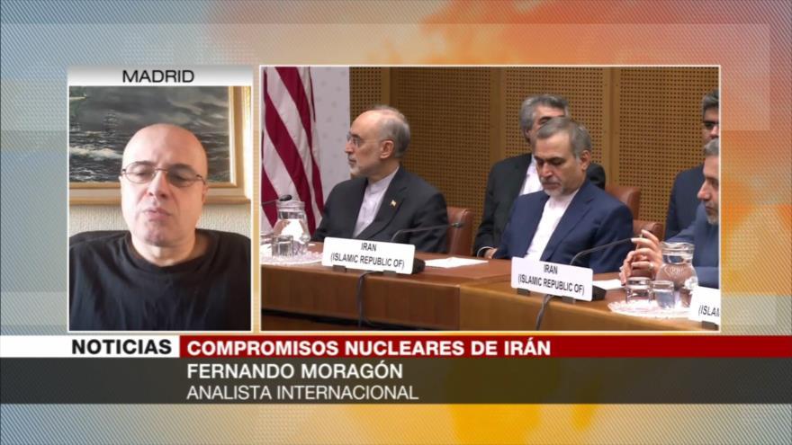Moragón: Europa no hará nada para el acuerdo nuclear con Irán